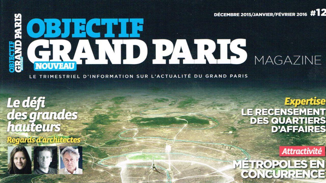 Interview de Stéphane Aubay sur Objectif Grand Paris