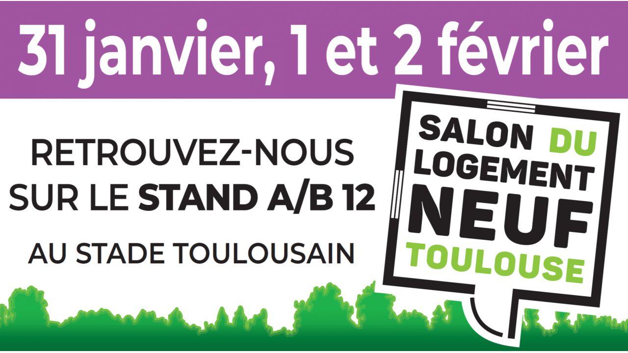 GreenCity Immobilier présent sur le Salon du logement Neuf à Toulouse