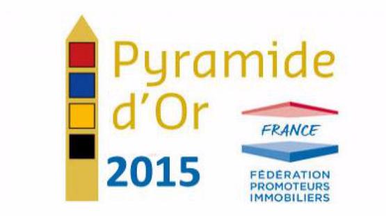 GreenCity Immobilier - Pyramide d'Argent du Prix EDF 2015