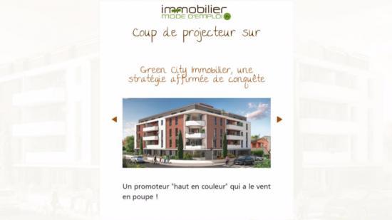 Green City Immobilier, une stratégie affirmée de conquête