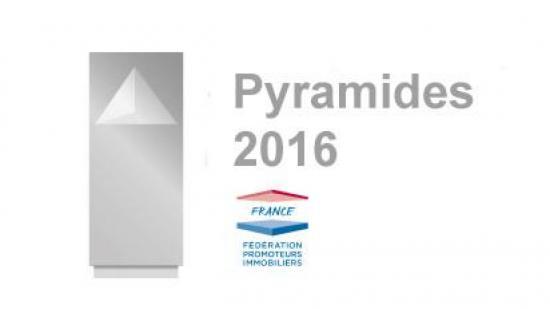 Double récompense pour GreenCity Immobilier au concours des Pyramides 2016