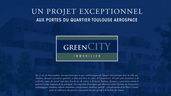 Un projet exceptionnel aux portes du quartier Toulouse Aérospace