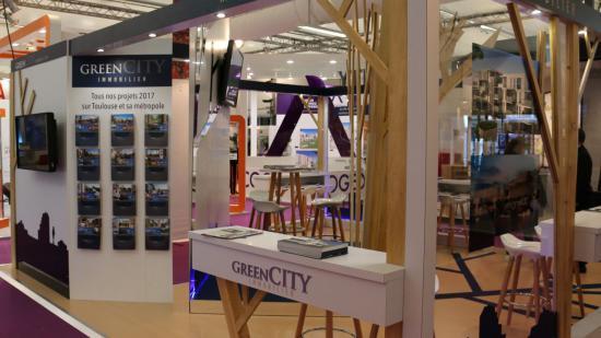 GreenCity Immobilier présent au Salon Du Logement Neuf le 23-24 et 25 mars 2018