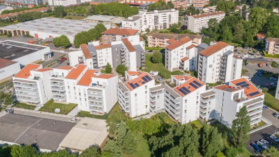 Inauguration des résidences