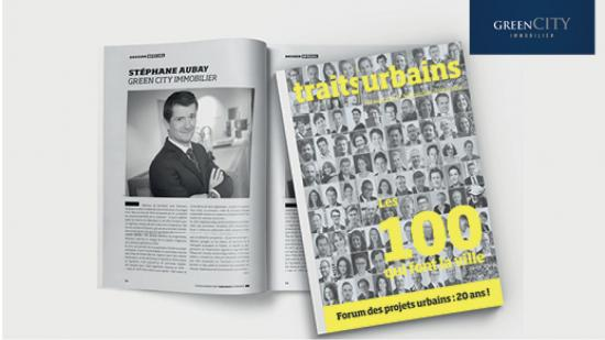 Stéphane Aubay dans les « 100 qui font la ville ! »