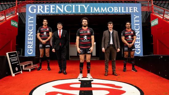 GreenCity immobilier partenaire Officiel du Stade Toulousain