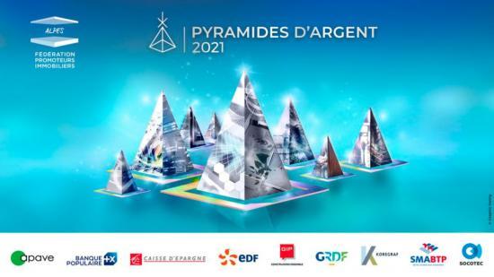 GreenCity Immobilier remporte 3 Pyramides d'Argent