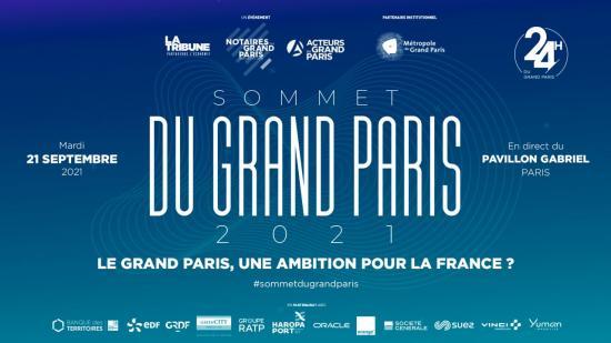 Sommet du Grand Paris 2021