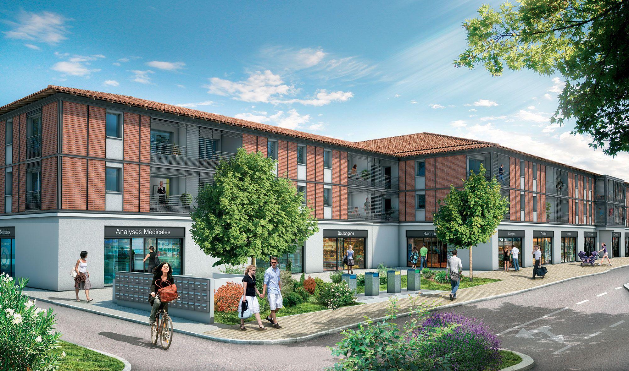 carre bastide ii green city immobilier. Black Bedroom Furniture Sets. Home Design Ideas