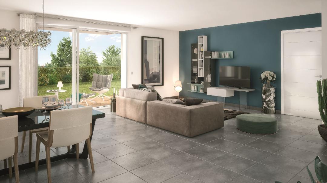 GreenCity immobilier - Fenouillet 31150 - Carré des Muses - appartement du T1 au T3 - vue intérieure