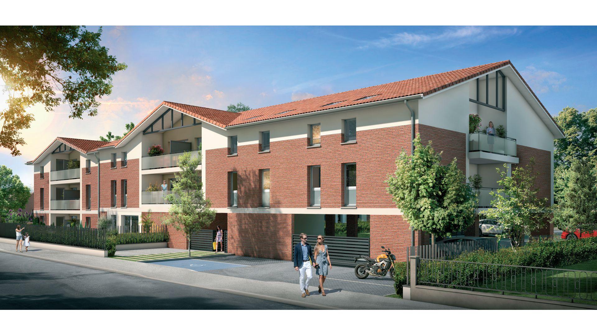 GreenCity immobilier - Fenouillet 31150 - Carré des Muses - appartement du T1 au T3