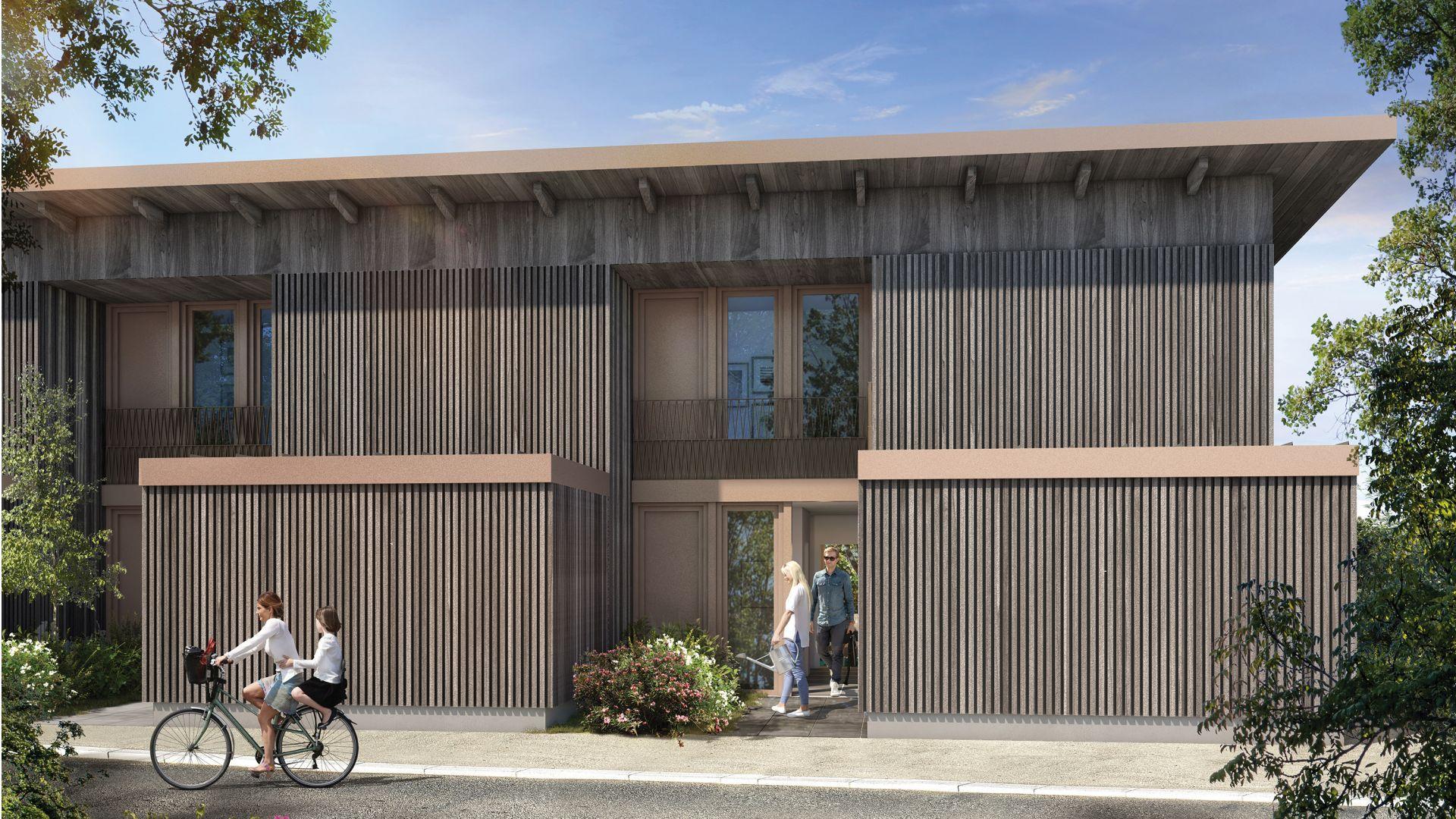 Greencity Immobilier - Résidence Carré Flore - 31700 Cornebarrieu - achat immobilier neuf - appartements et villas  du T2 au T5 - villa