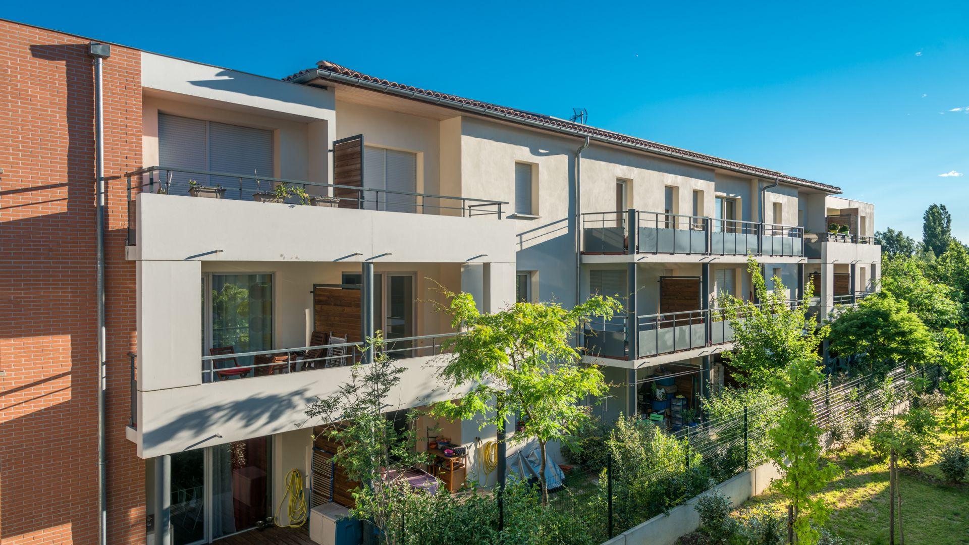 Greencity Immobilier - Résidence Carré Tolosan - 31320 Castanet-Tolosan Location