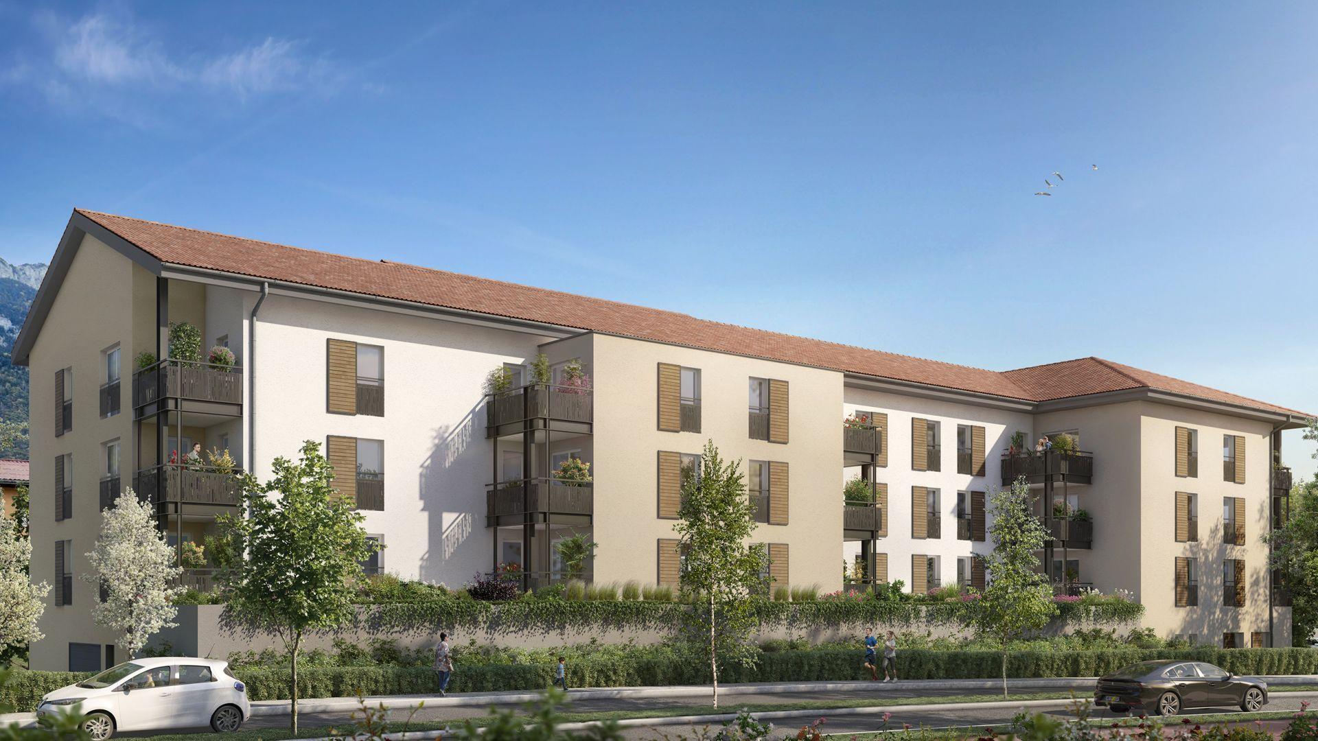 Greencity Immobilier - Clos Charvin - achat appartement neuf du T1 au T3 - Bonneville 74130