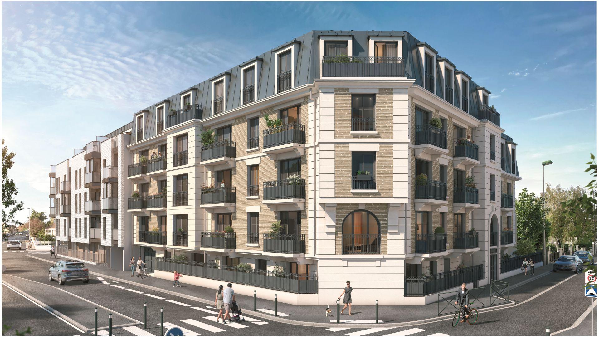Greencity Immobilier - Cours Boileau - achat appartements neufs du T1 au T5 - Aulnay-sous-Bois - 93600
