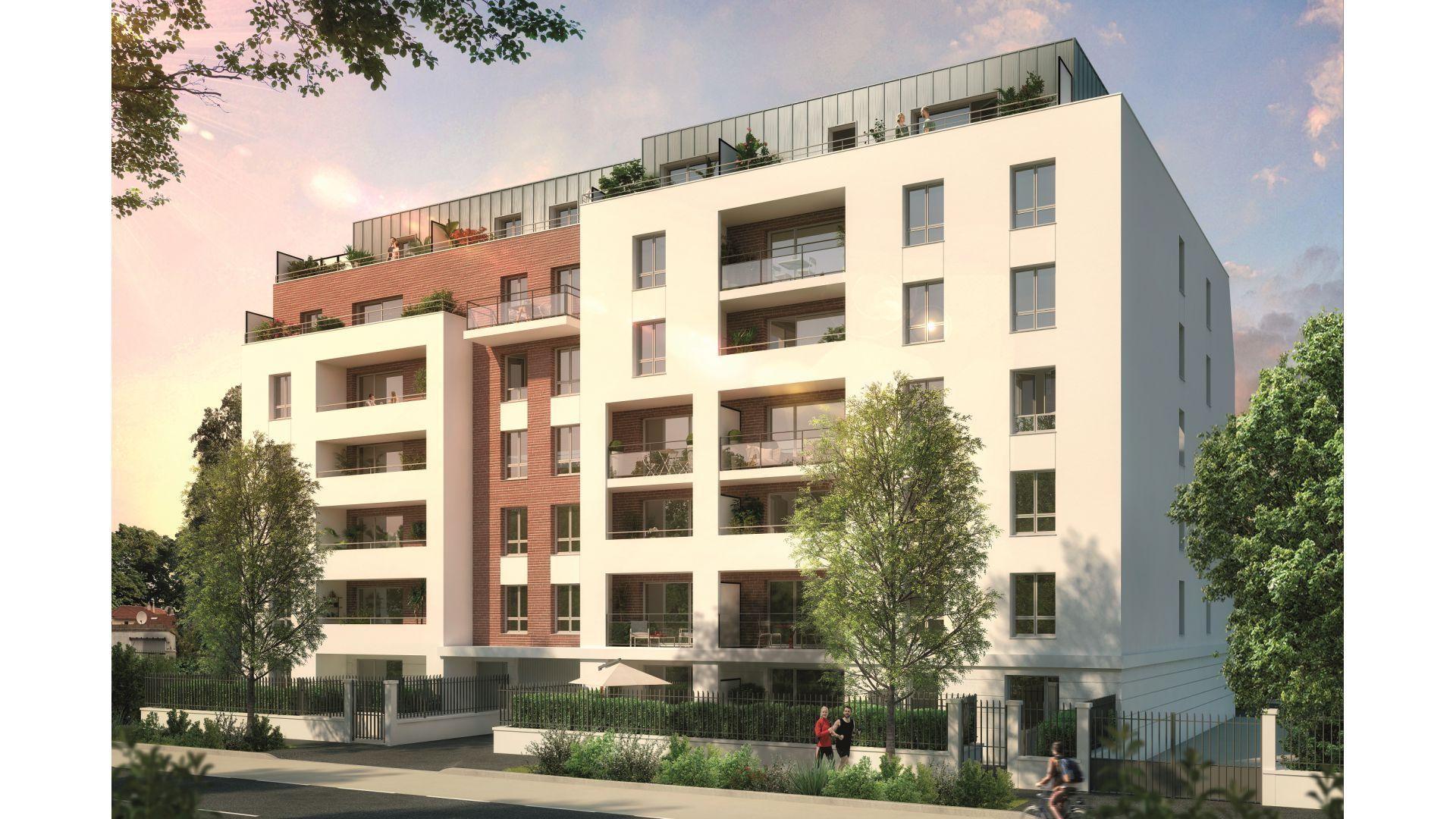 Greencity Immobilier - Résidence Cours Briand - 93190 Livry-Gargan - appartements neufs du T1 au T4Duplex