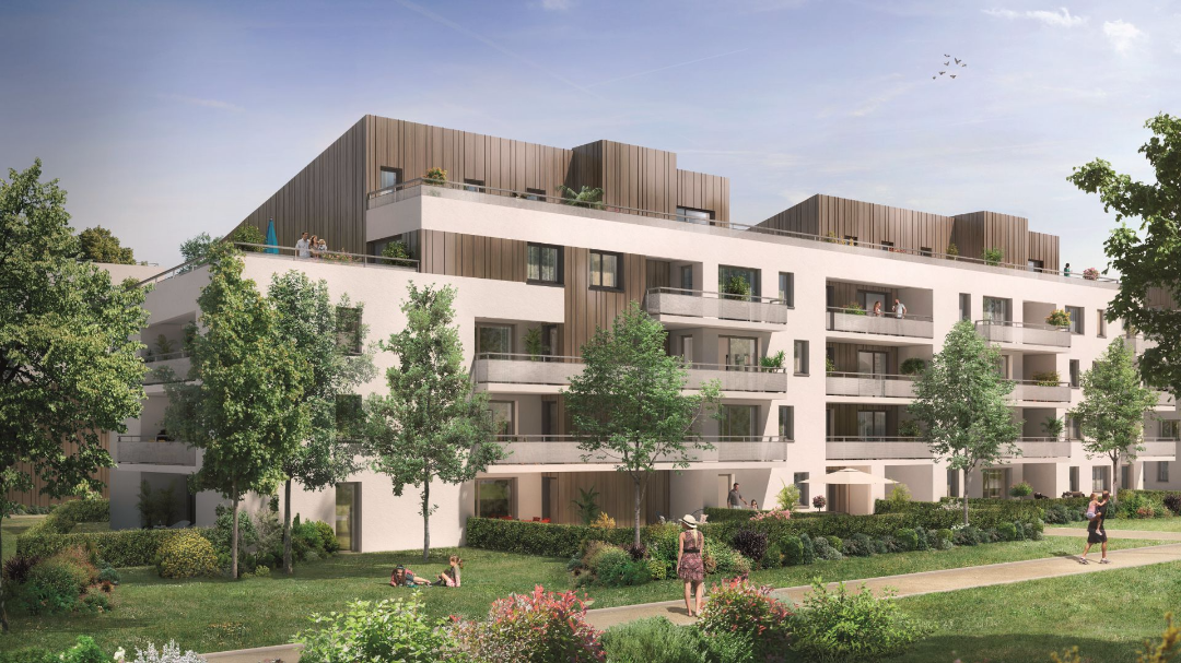 Residence CoverGreen - GreenCity Immobilier - Toulouse Montaudran