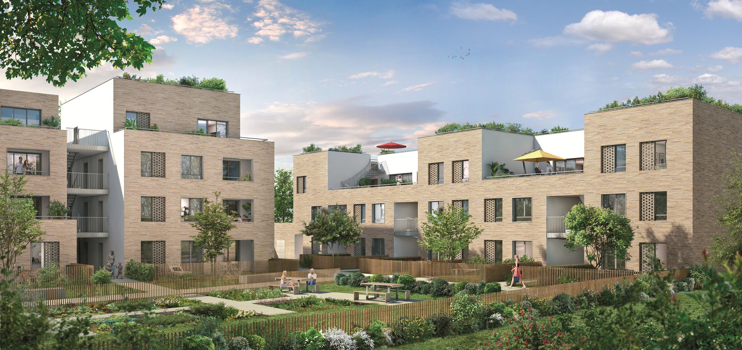 GreenCity Immobilier L'Eleven - Toulouse - Pyramide 1ère réalisation 2018