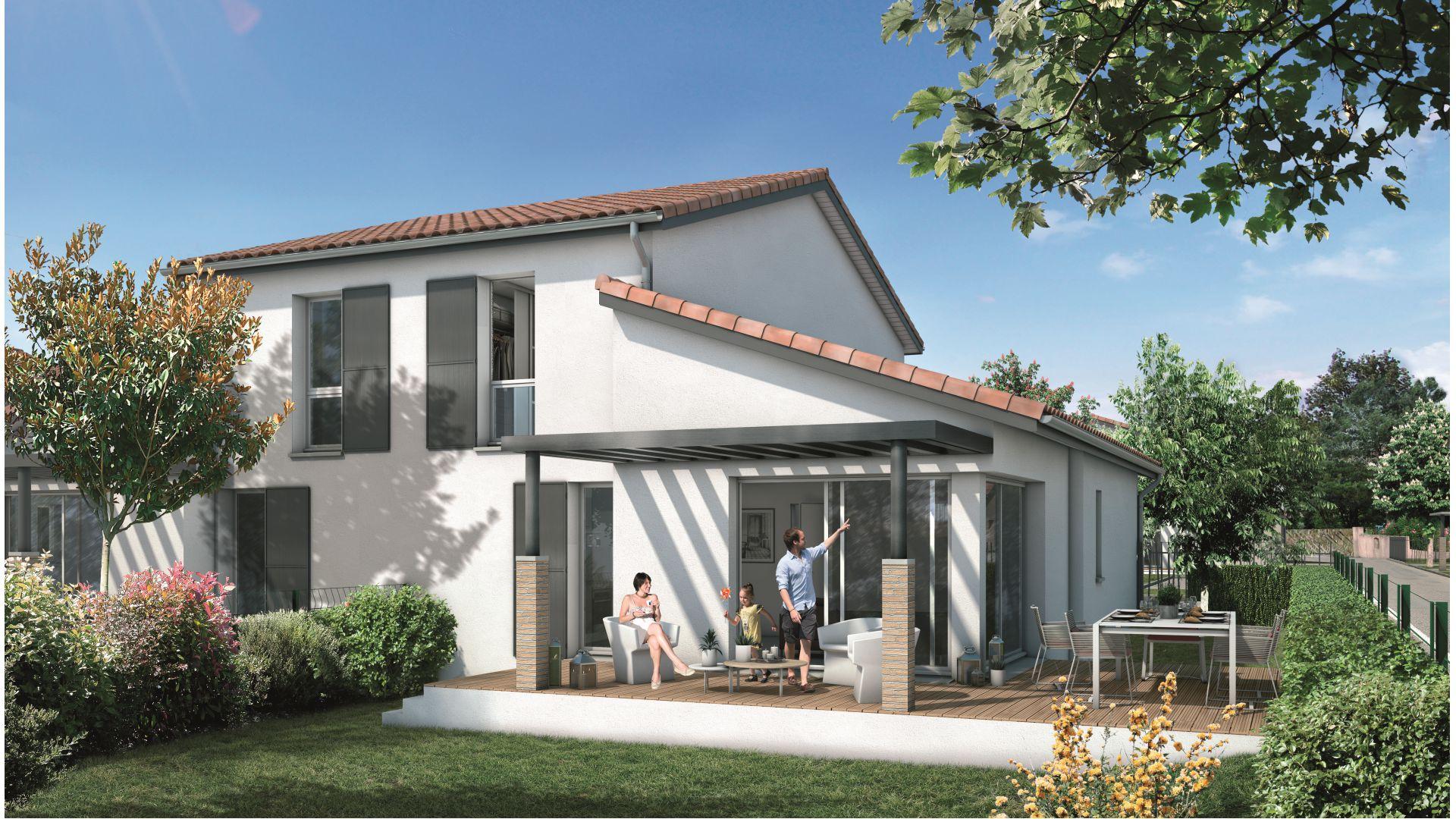 Greencity Immobilier Castelginest - Domaine Castelia - Villa T4