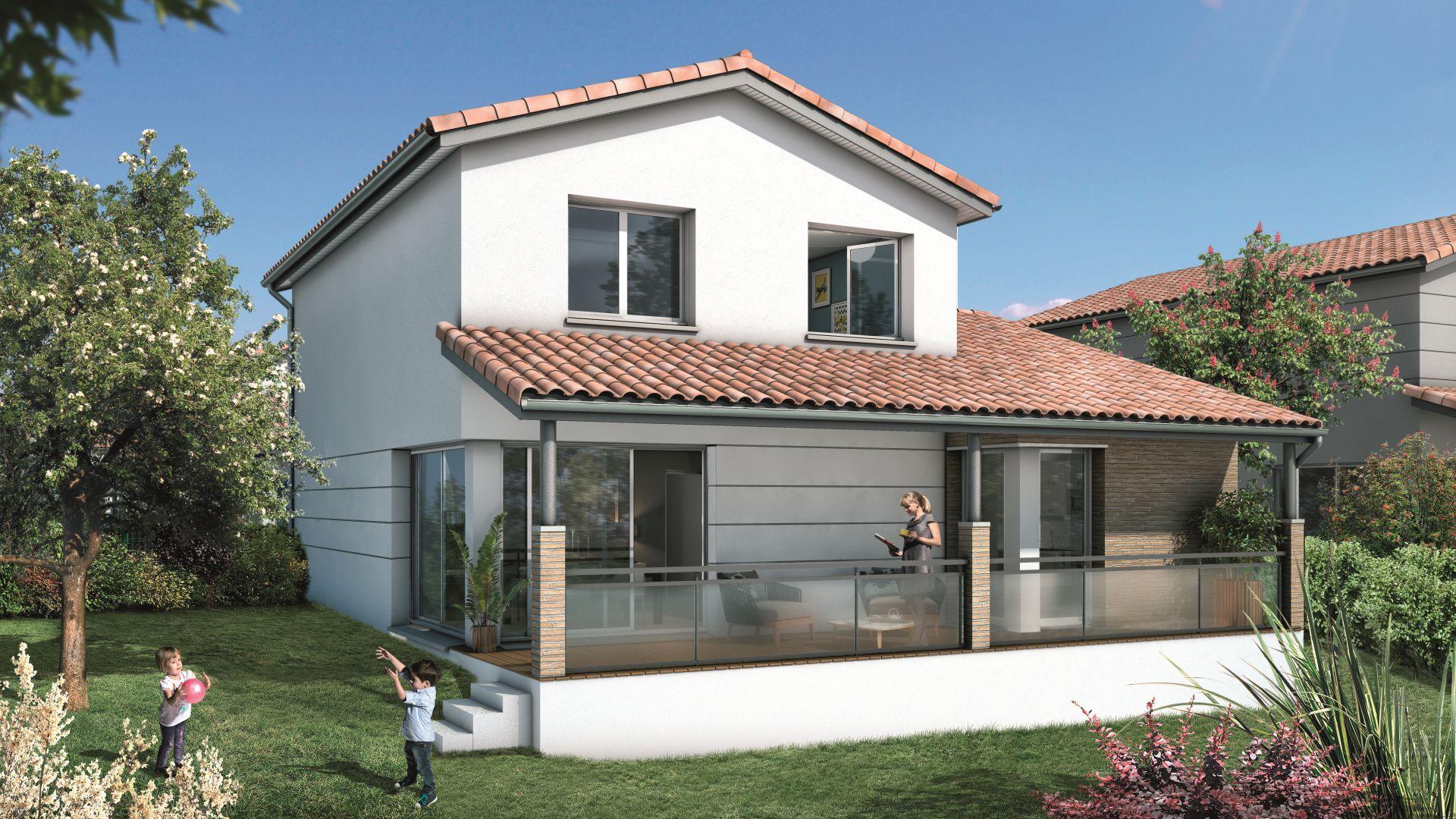 Greencity Immobilier Castelginest - Domaine Castelia - Villa T5