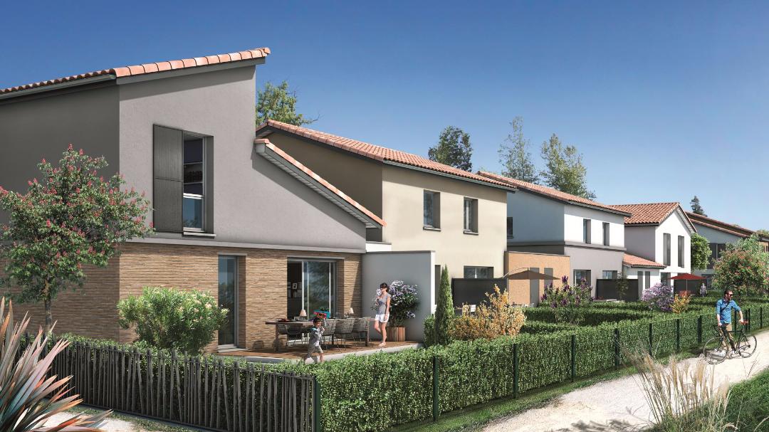 Greencity Immobilier Castelginest - Domaine Castelia - Villas