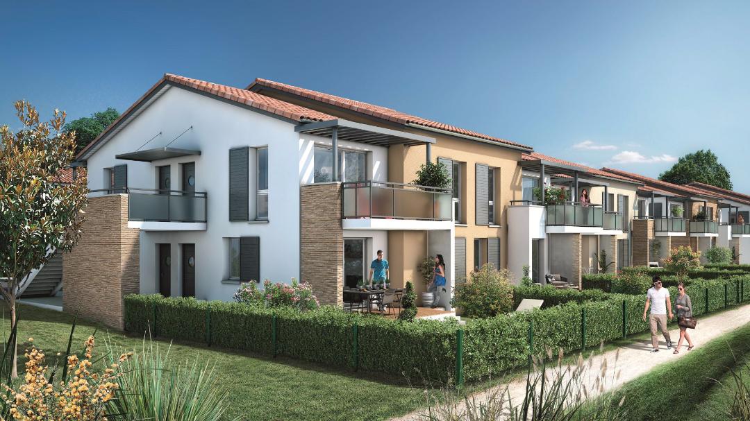 Greencity Immobilier Castelginest - Domaine Castelia - appartements