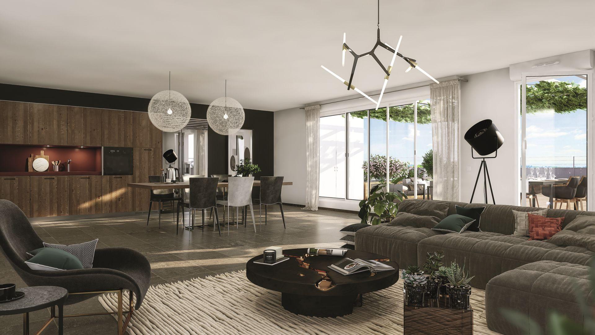 Greencity Immobilier - Domaine Marignac - Achat appartements à Montrabé 31850 - vue intérieure