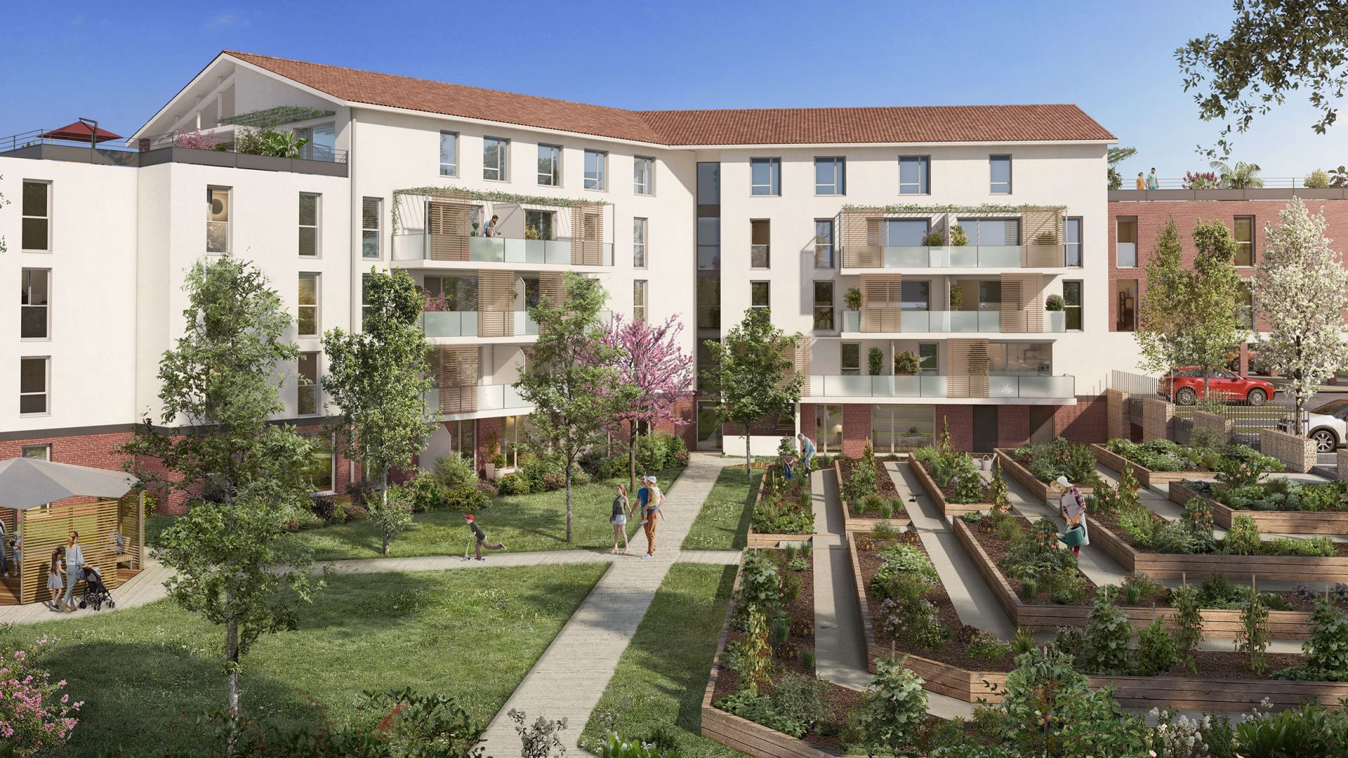 Greencity Immobilier - Domaine Marignac - Achat Appartements à Montrabé 31850