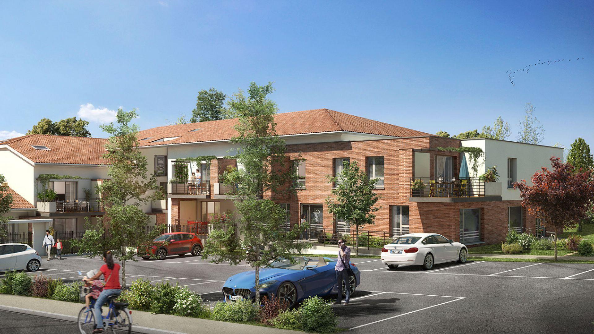 GreenCity immobilier - L Escalis - Appartement du T1 au T5 Duplex - Escalquens 31750