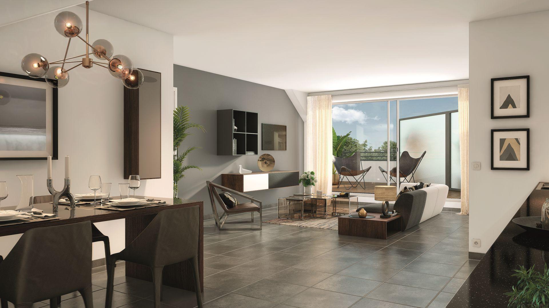 GreenCity Immobilier - Esprit Lodge - Périgny sur yerres - 94520 vue intérieure