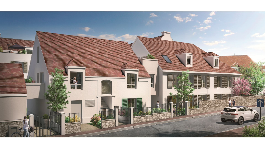GreenCity Immobilier - Esprit Lodge - Périgny sur yerres - 94520 vue rue