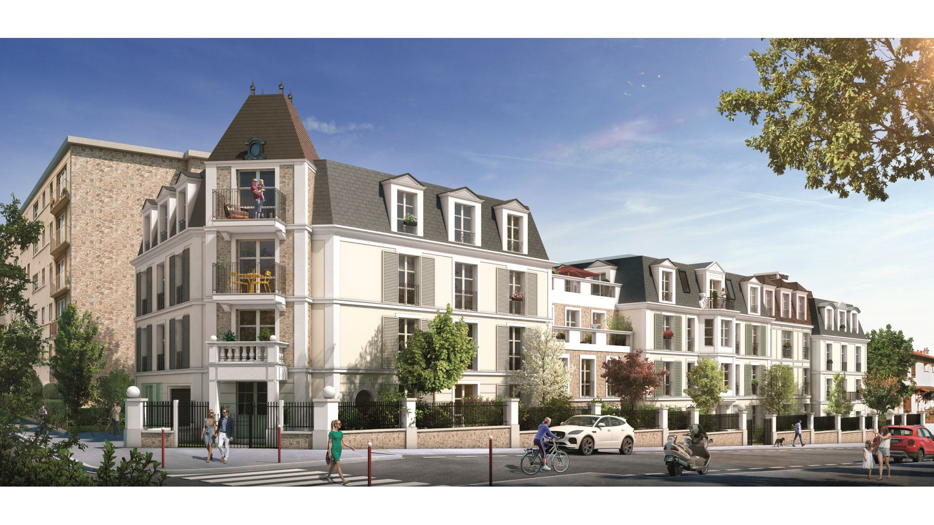 GreenCity immobilier - achat appartement neuf - Villiers Sur Marne - 94350 - Résidence Grand Angle