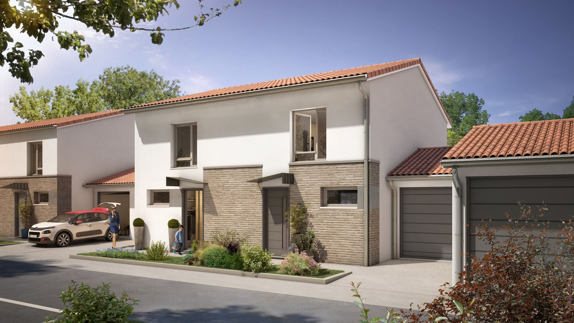GreenCity Immobilier-La Bastide D'Adèle-Tournefeuille-31170-Villa T3