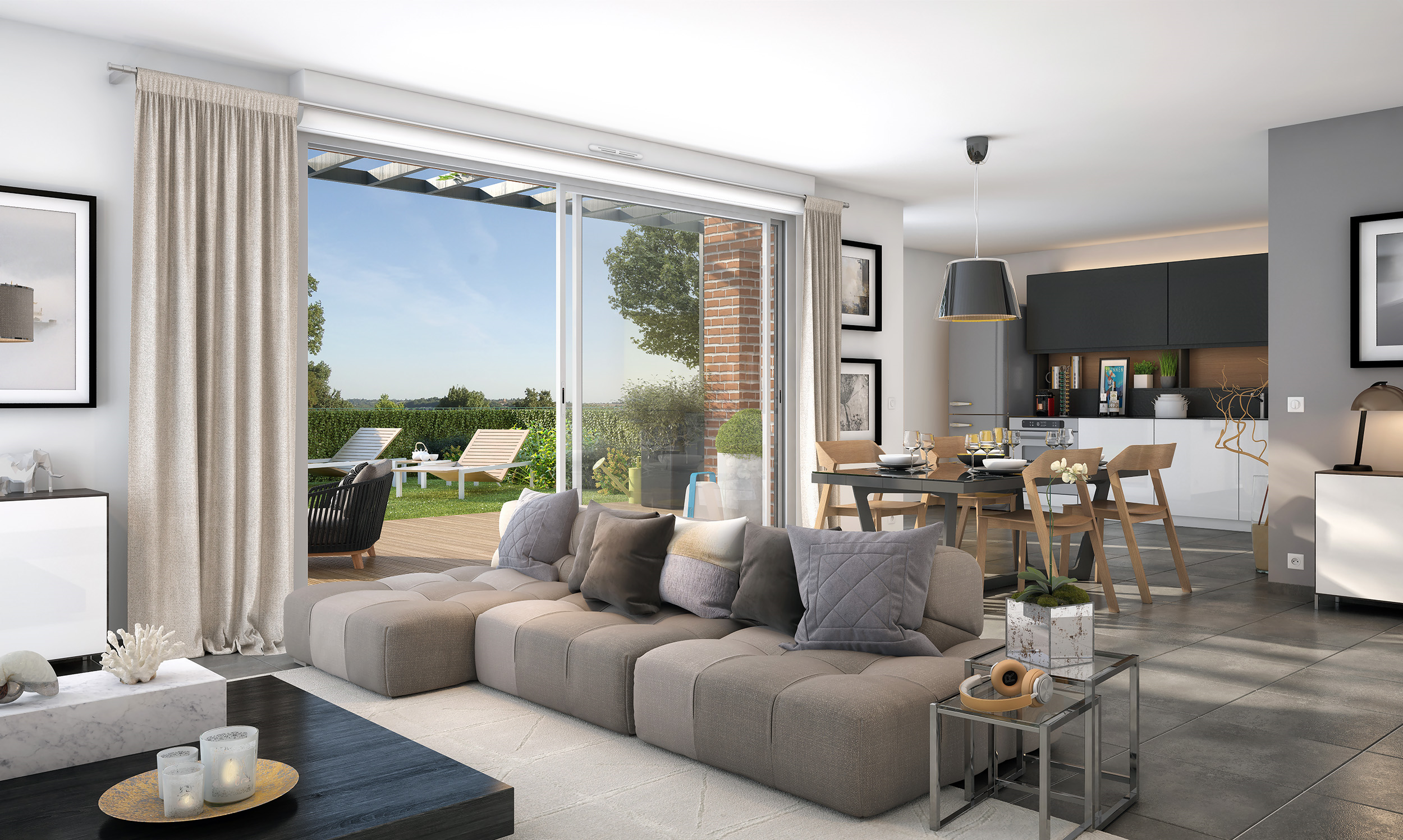 La bastide d 39 adele green city immobilier - Interieur appartement original et ultra moderne a paris ...