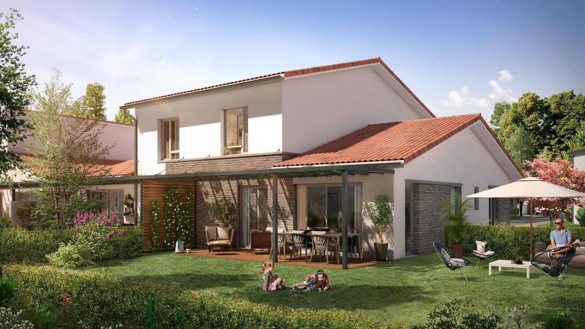 GreenCity Immobilier-La Bastide D'Adèle-Tournefeuille-31170-Villa T4