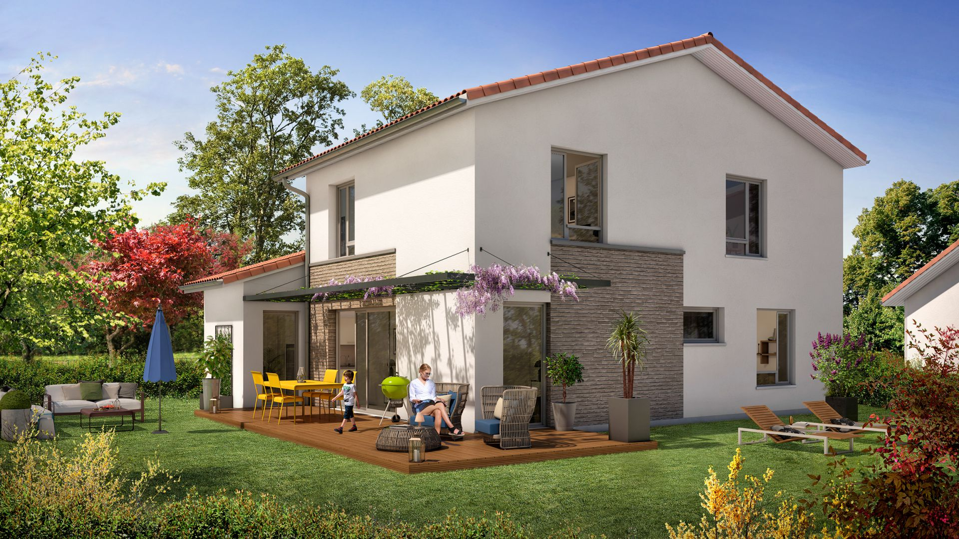 GreenCity Immobilier-La Bastide D'Adèle-Tournefeuille-31170-Villa T5