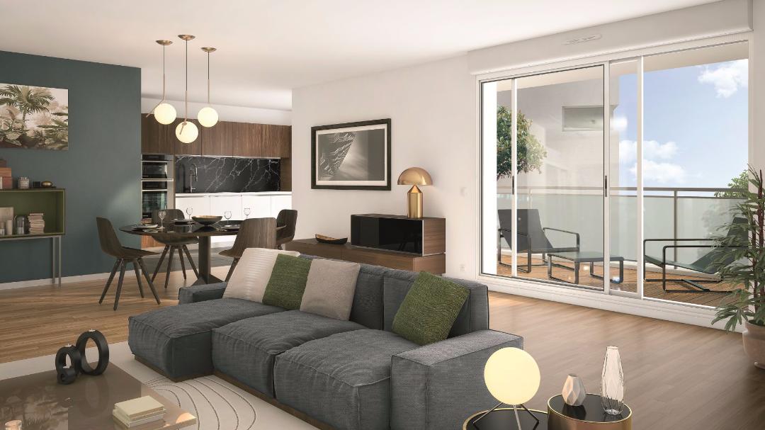Greencity Immobilier - L'Amarante - Nogent sur marne - 94130 - intérieur