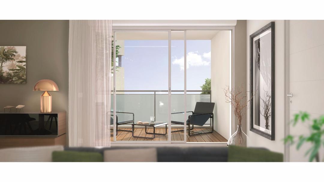 Greencity Immobilier - L'Amarante - Nogent sur marne - 94130 - terrasse