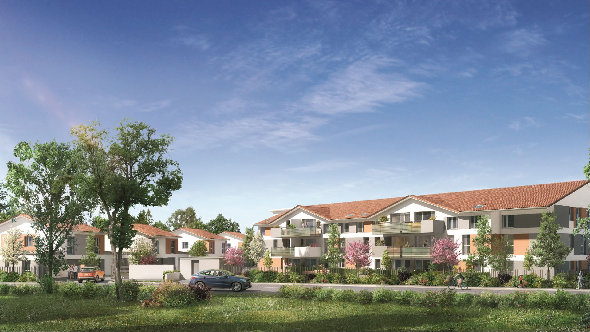 GreenCity immobilier - Aussonne 31840 - Résidence l azalee - achat appartement neuf aussonne - T2