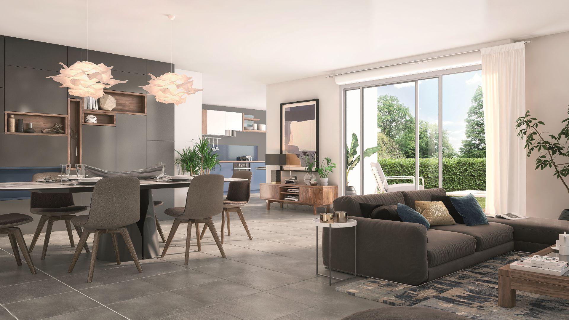 GreenCity immobilier - Aussonne 31840 - Résidence l azalee - achat villa neuve aussonne - T5 - vue intérieure
