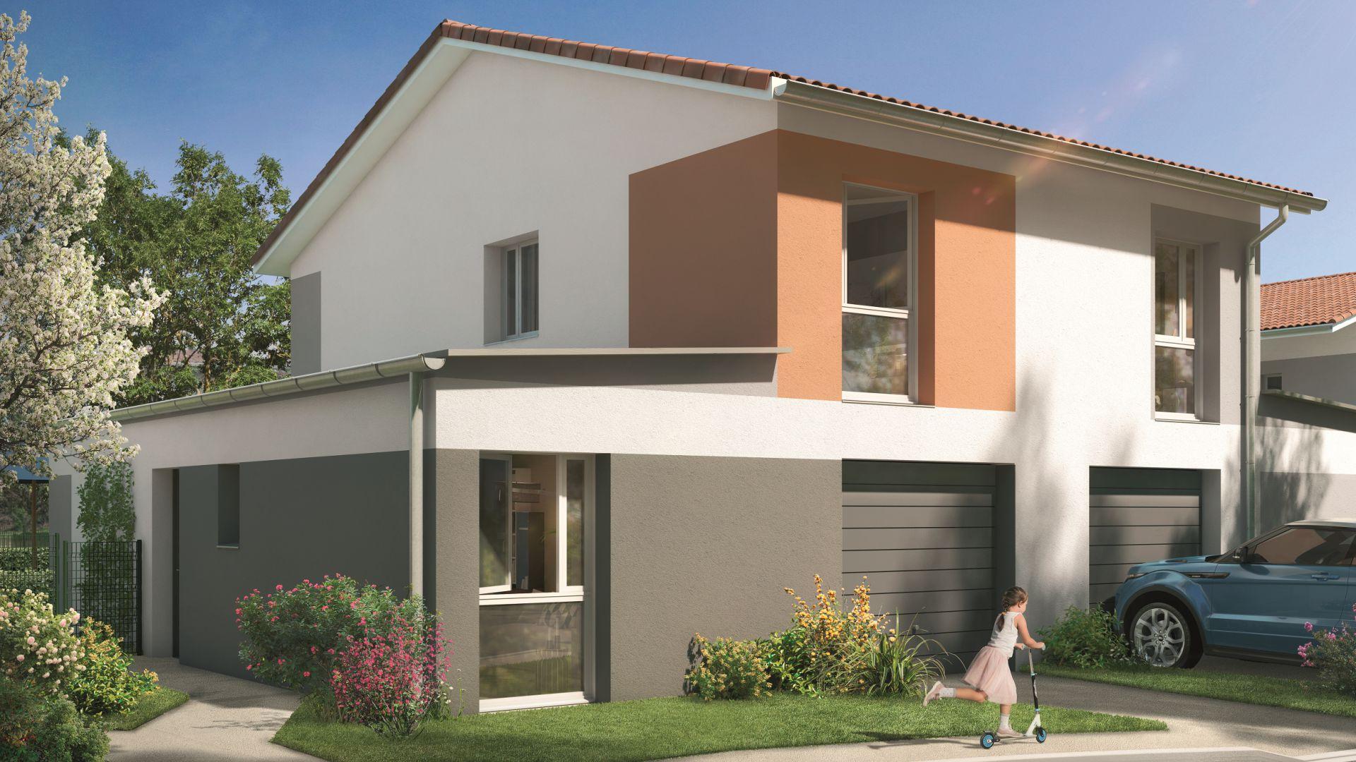 GreenCity immobilier - Aussonne 31840 - Résidence l azalee - achat villa neuve aussonne - T4