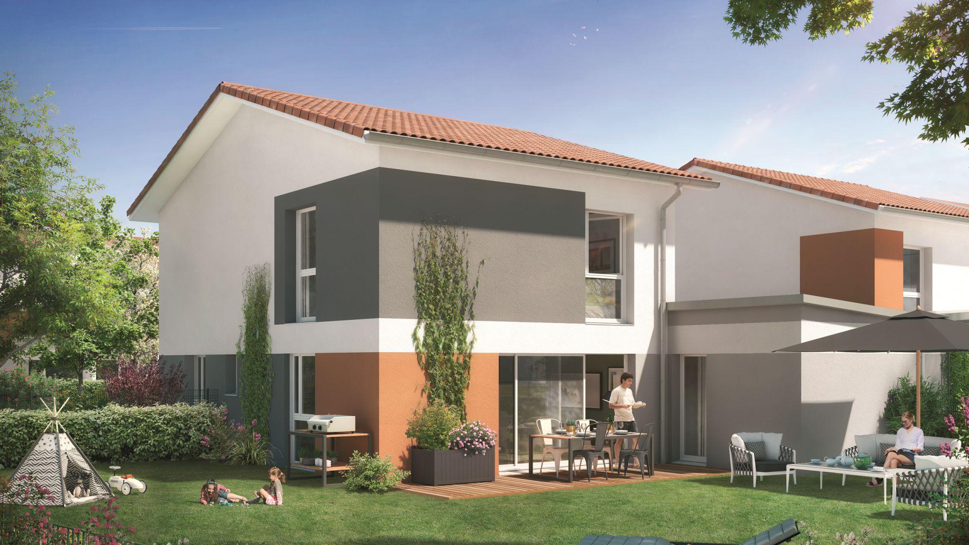 GreenCity immobilier - Aussonne 31840 - Résidence l azalee - achat villa neuve aussonne - T5