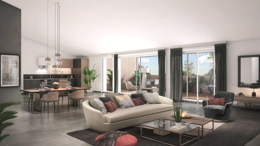Greencity Immobilier - Le 234 Avenue - Toulouse - 31400 - intérieur