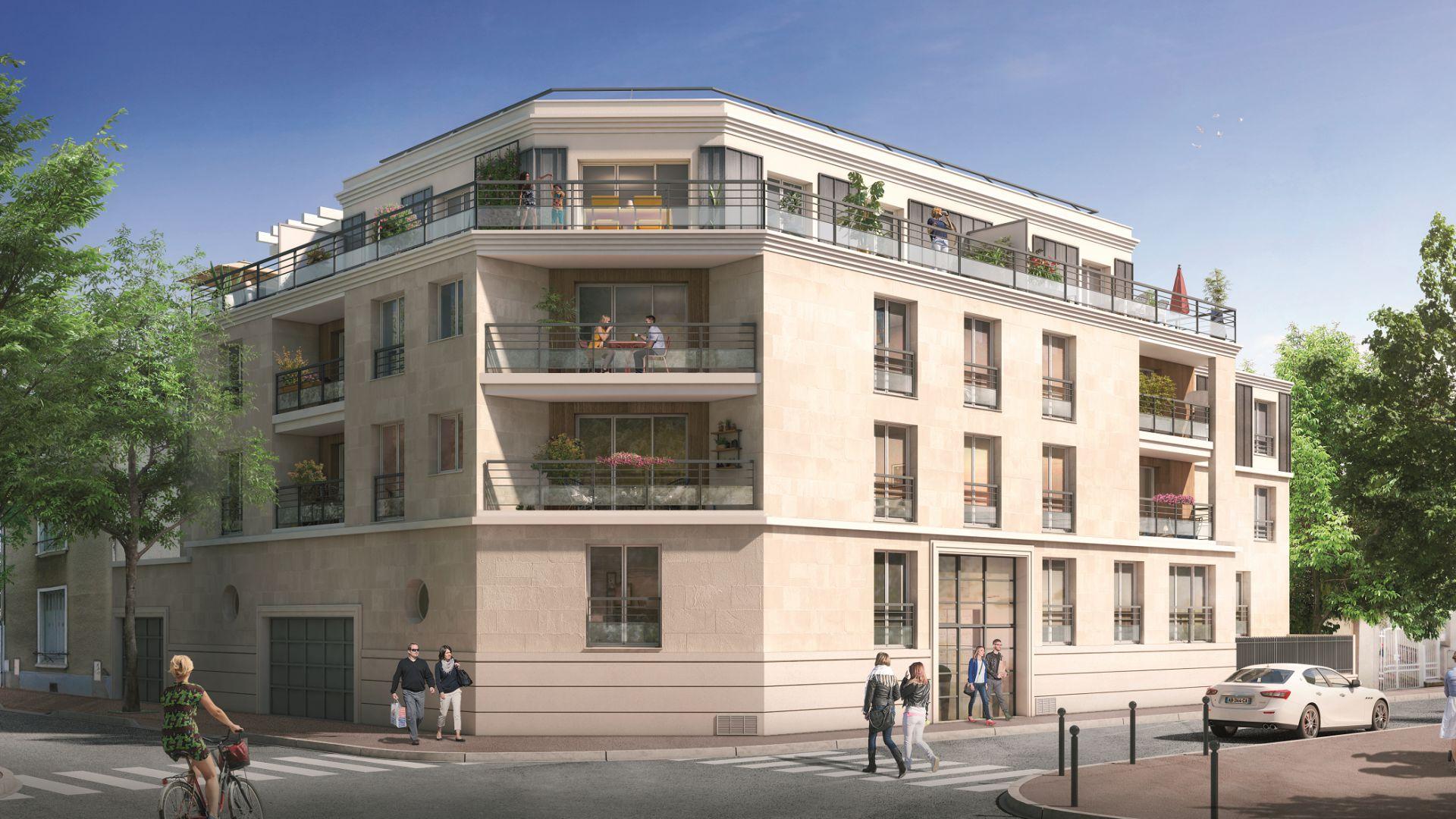 Greencity Immobilier - Résidence Le 26 Saint-Louis - 94100 Saint-Maur les Fossés - appartements neufs du T2 au T4