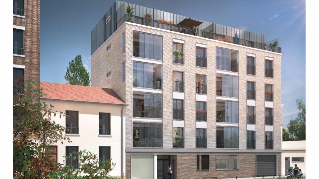 Greencity Immobilier - Le 35 Rive Gauche - Asnières - 92600