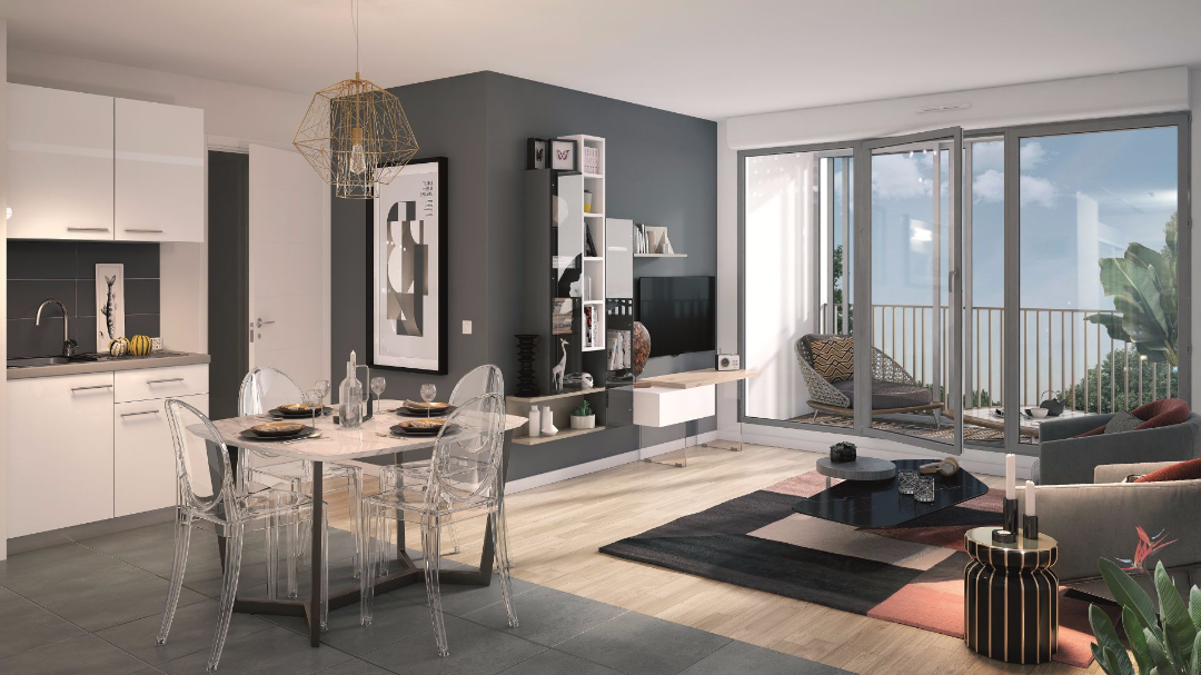 Greencity Immobilier - Le 35 Rive Gauche - Asnières - 92600 - intérieur