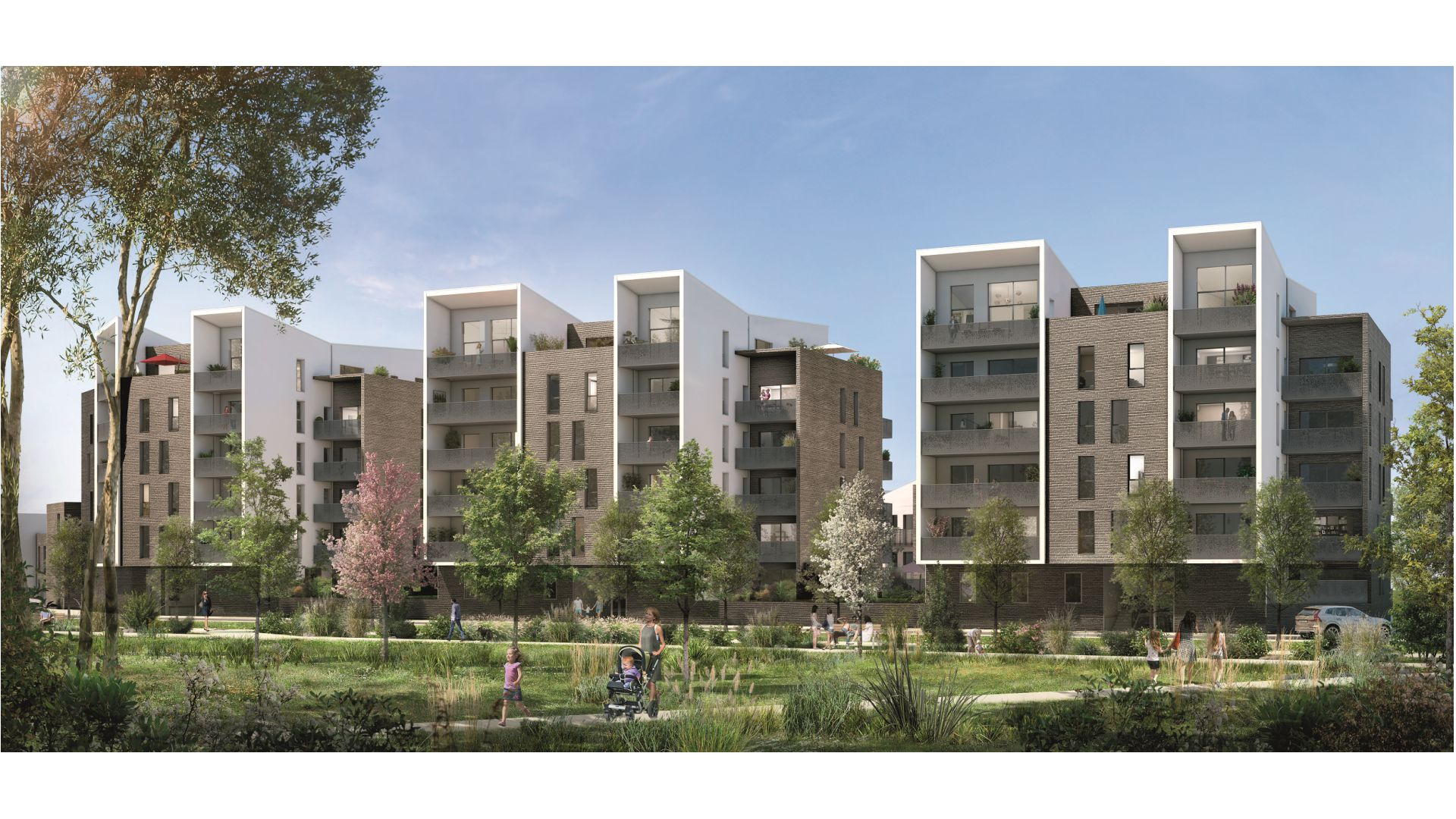 GreenCity immobilier - Blagnac-Beauzelle - 31700 - LB47 - appartements et villas - T2 - T3 - T4 -T5