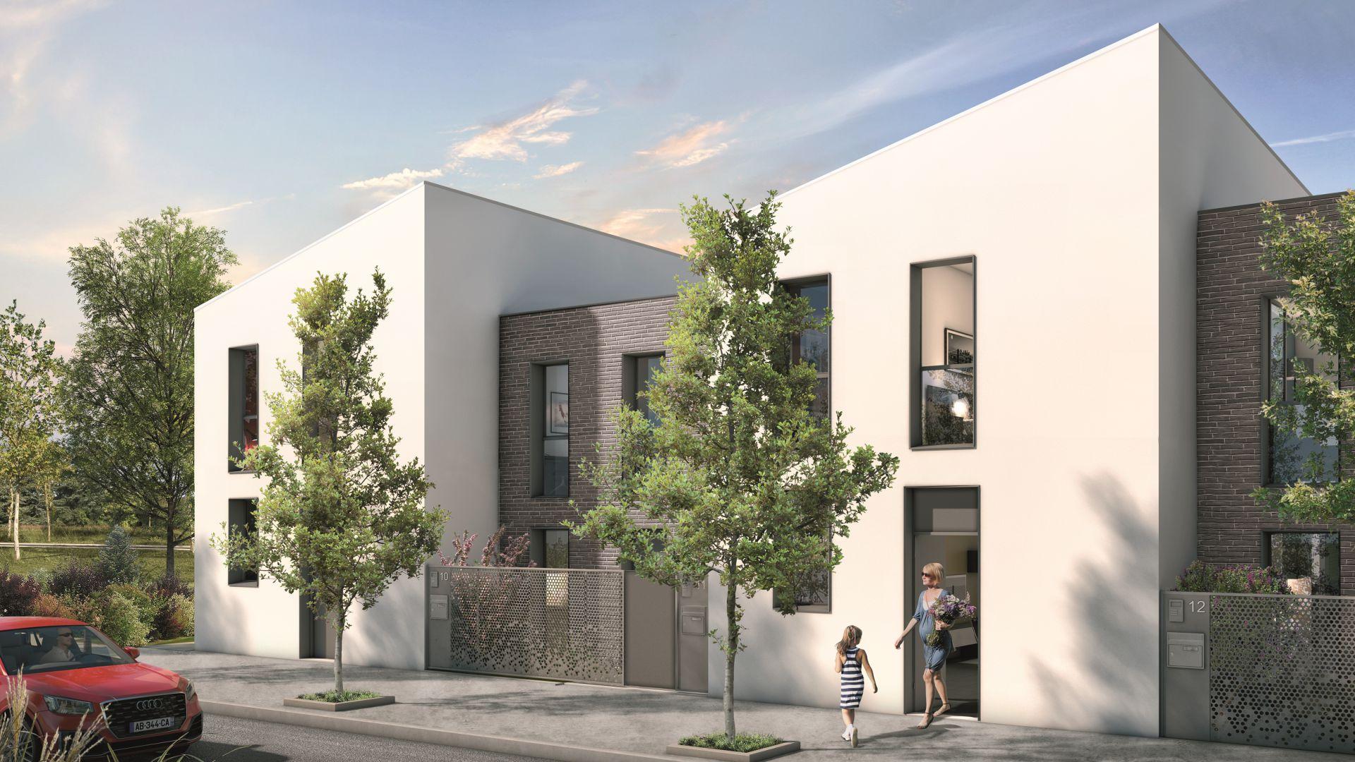 GreenCity immobilier - Blagnac-Beauzelle - 31700 - LB47 - appartements et villas - T2 - T3 - T4 -T5 - villa T4