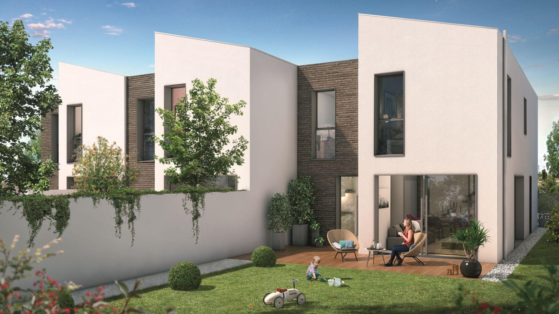 GreenCity immobilier - Blagnac-Beauzelle - 31700 - LB47 - appartements et villas - T2 - T3 - T4 -T5 - villa T5