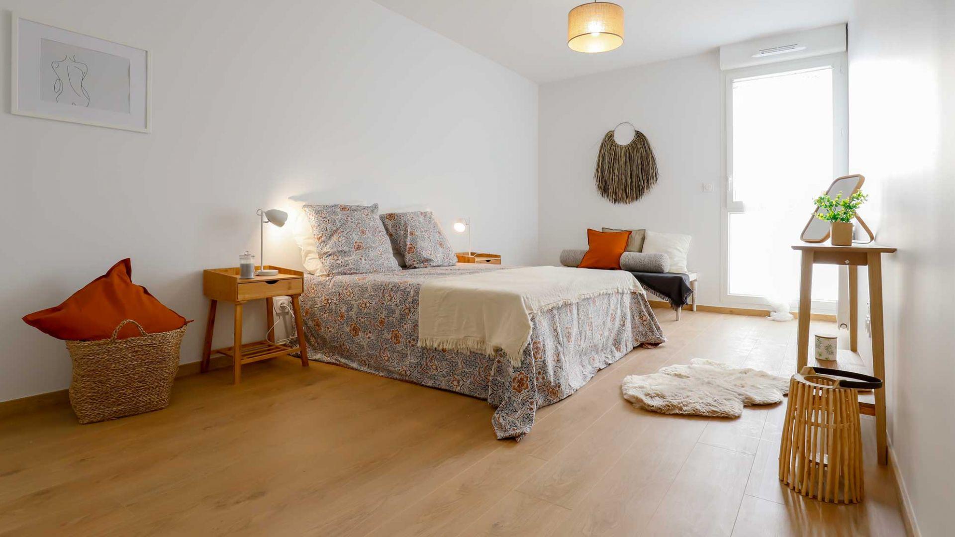 GreenCity immobilier - Blagnac-Beauzelle - 31700 - LB47 - villa T5 - chambre